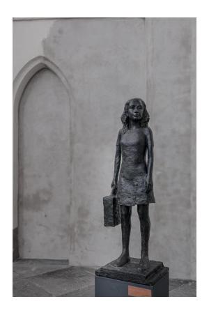 Anne Frank klein