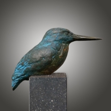 IJsvogel, brons, 450 euro